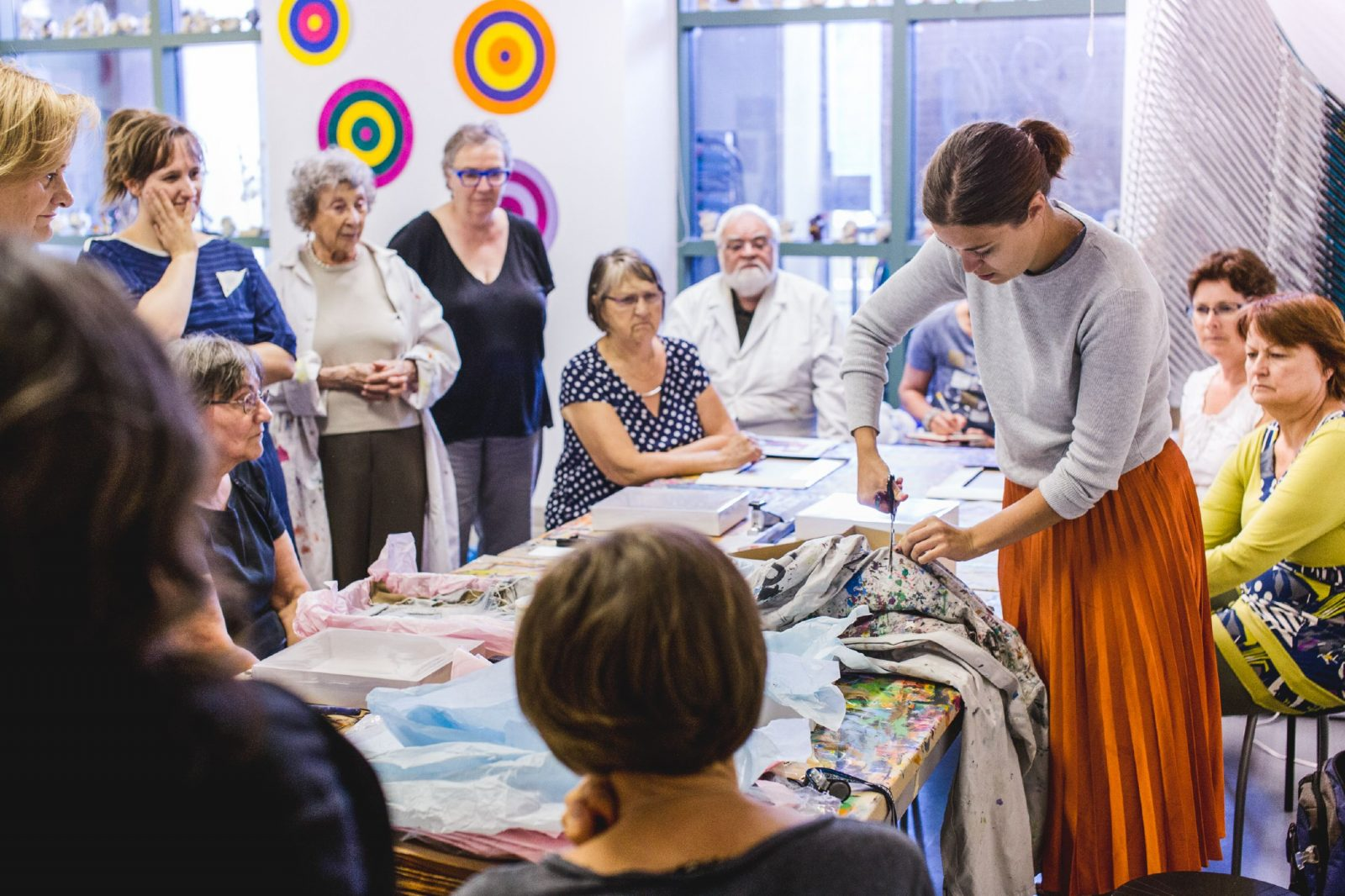 Art Workshops for Groups – MAC Montréal