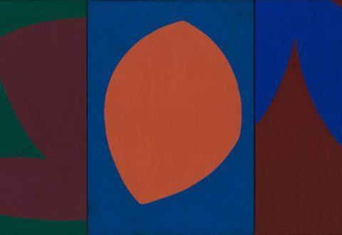 Fernand Leduc, Triptyque, 1964