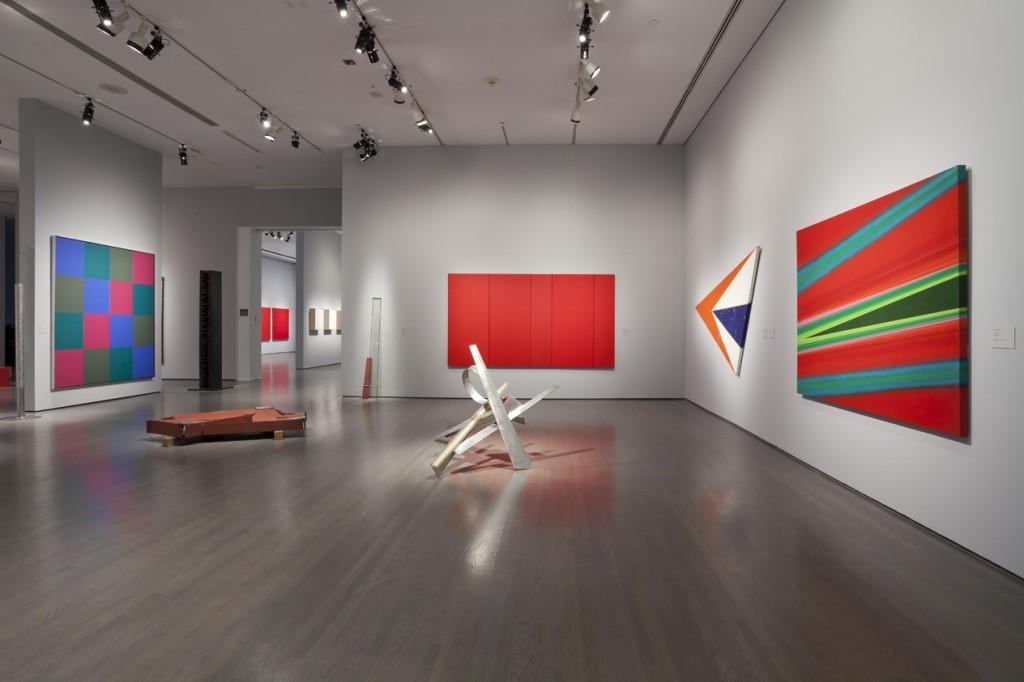 La question de l abstraction mus e d 39 art contemporain de for Art contemporain sculpture