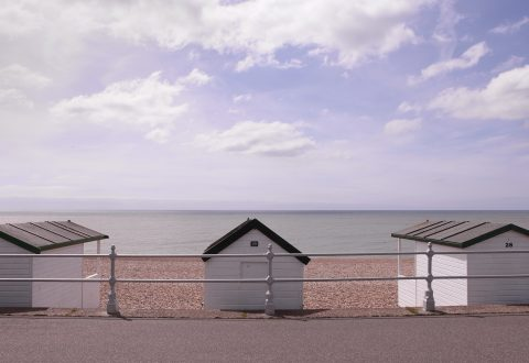 Emmanuelle Léonard, image tirée dePostcard from Bexhill-on-Sea, 2014