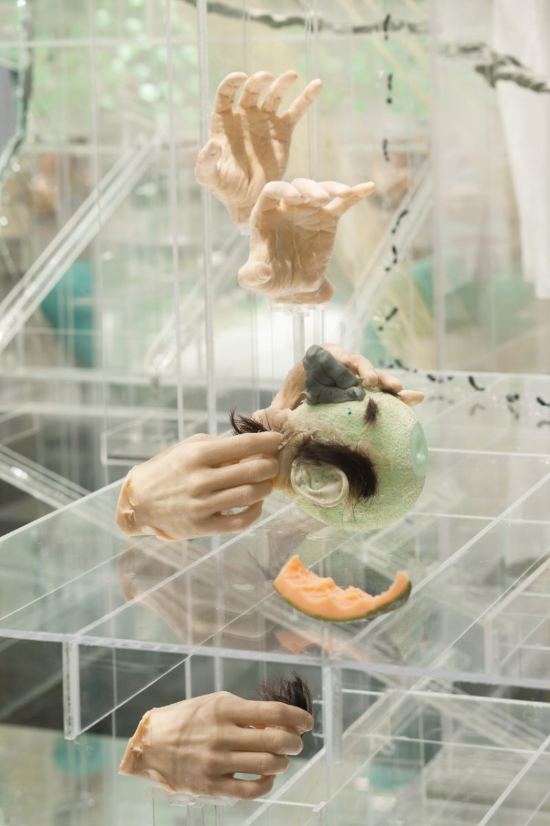 David Altmejd, <i>The Flux and The Puddle</i> (détail), 2014