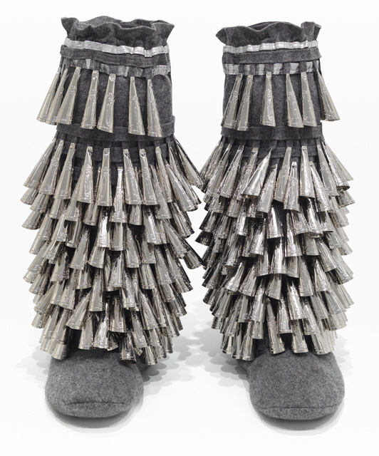 Maria Hupfield, Jingle Boots, 2011