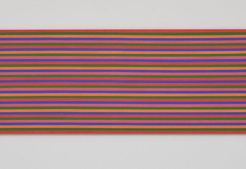 Claude Tousignant, La grande ligne perdue [A Long Lost Line], 1969