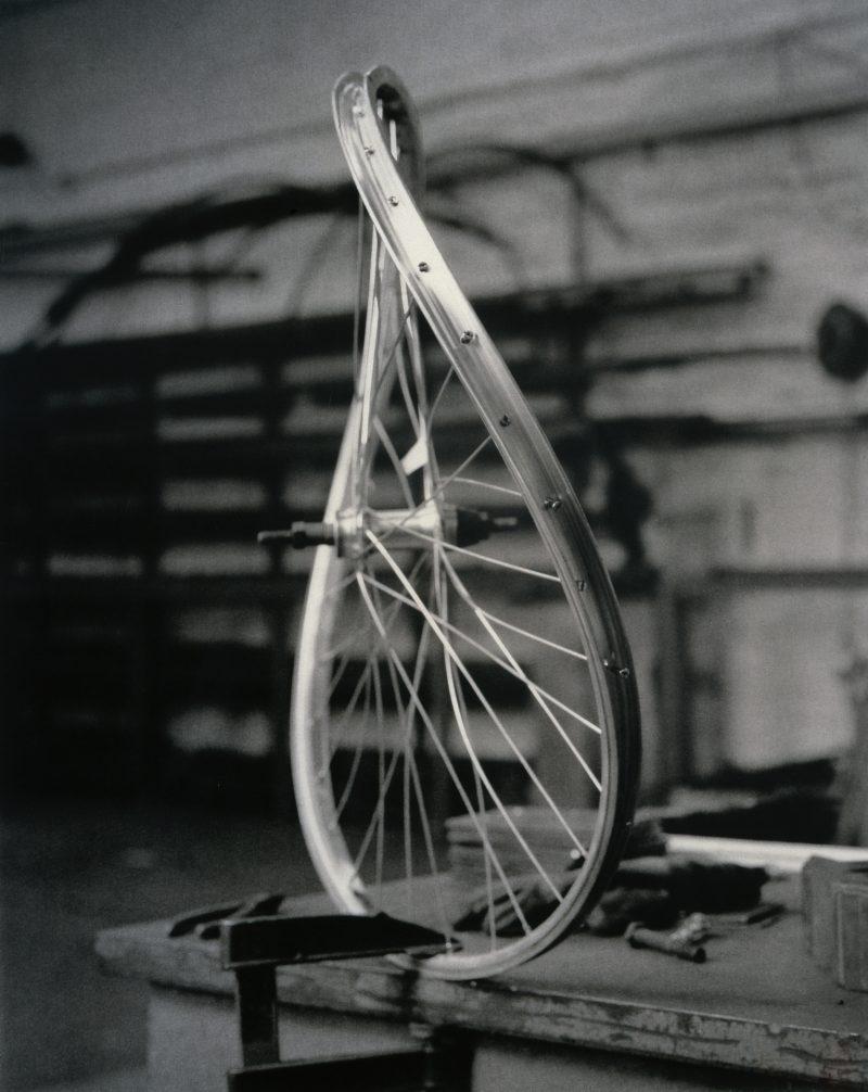 Simon Starling, <i>Bicycle Wheel (Failed)</i>, 2003-04