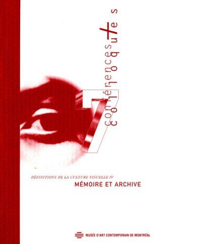 Mémoire et archive