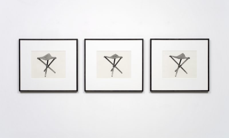 Simon Starling, Home-made Three-Legged Stool, 2004