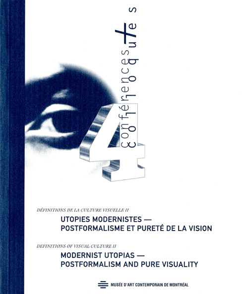 Page couverture : Utopie moderniste