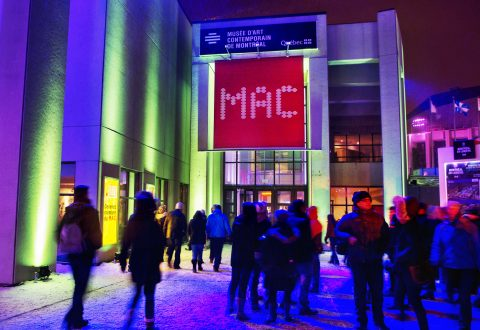 Nuit blanche at the MAC 2014