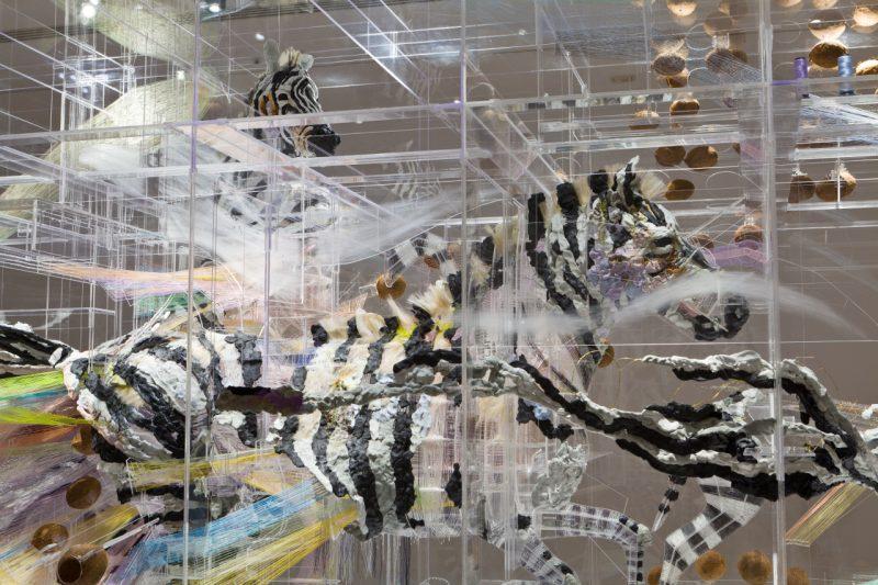David Altmejd, Le spectre et la main (detail), 2012