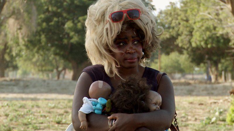 Aereile Jackson, Tent City, Los Angeles, image tirée du film
