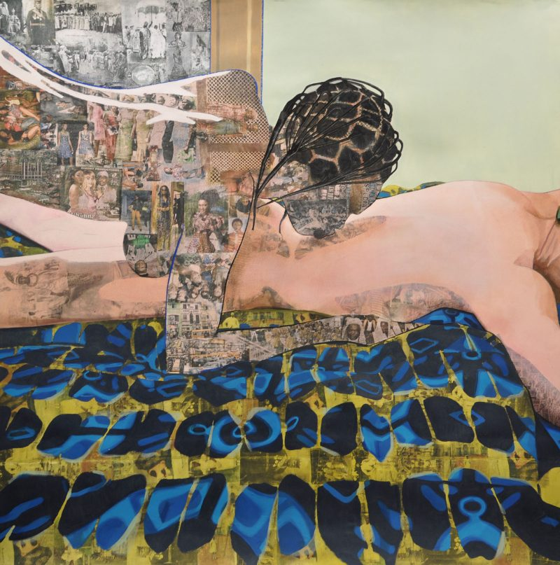 Njideka Akunyili Crosby, <i>Thread</i>, 2012