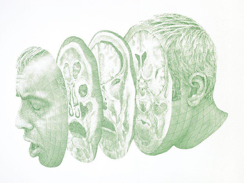 Numa Amun, <i>Citadelle des sens (Vert)</i>, 2007 – 2009.