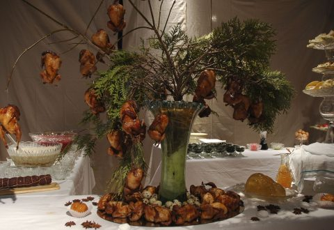 The MAC invites you to a Banquet by artist Claudie Gagnon