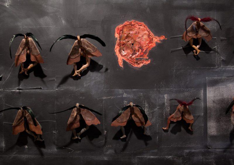 Wangechi Mutu, Moth Girls, 2010