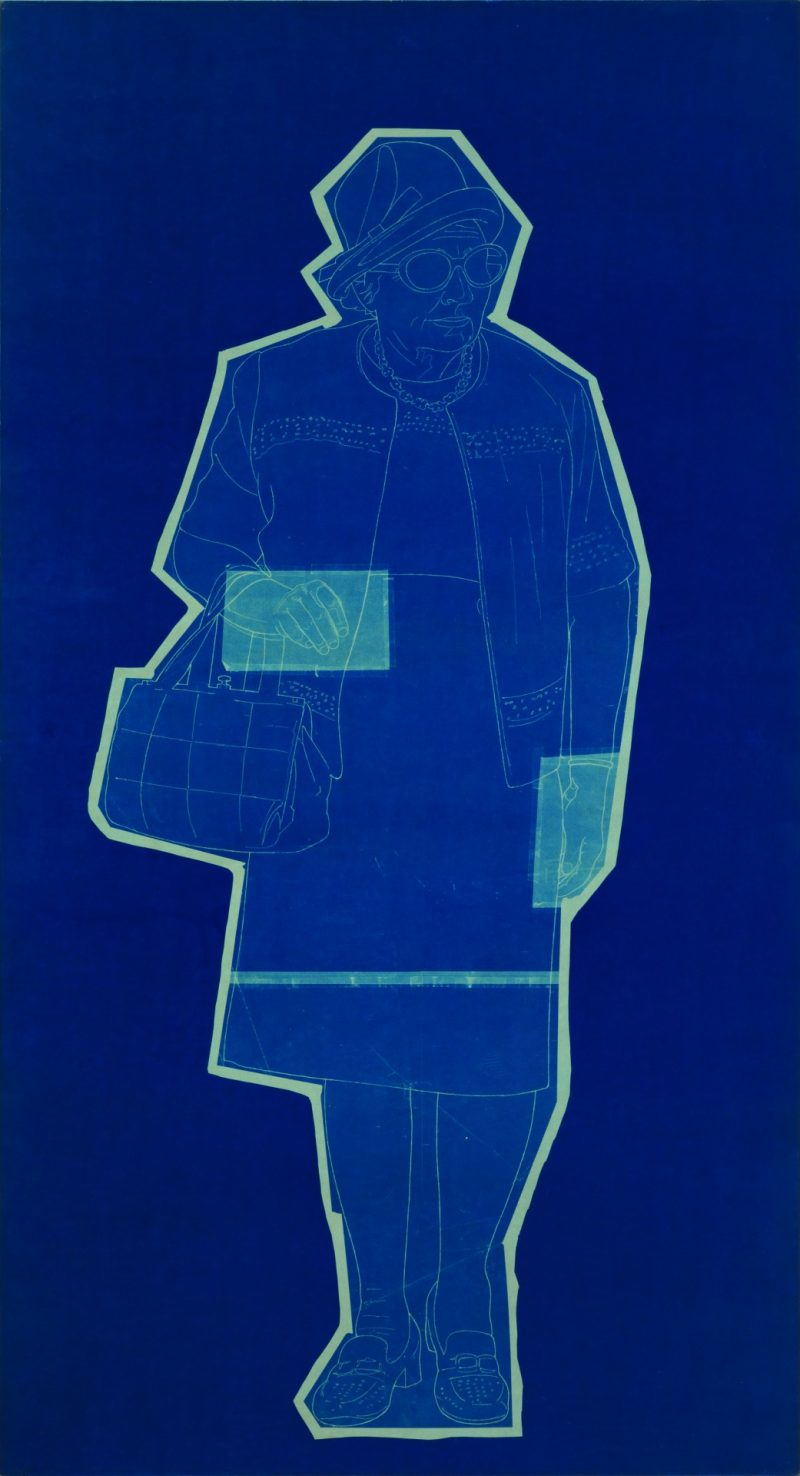 Edmund Alleyn, <i>Blue Prints</i> (detail), 1978