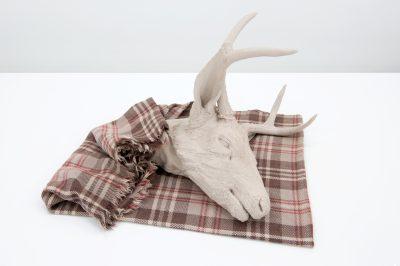 Liz Magor, Buck (Blanket), 2008