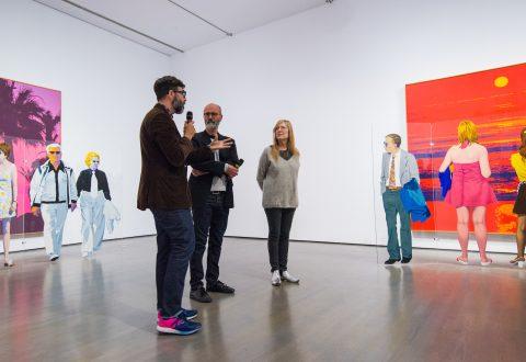 Conversation entre Geneviève Cadieux et Pierre Dorion