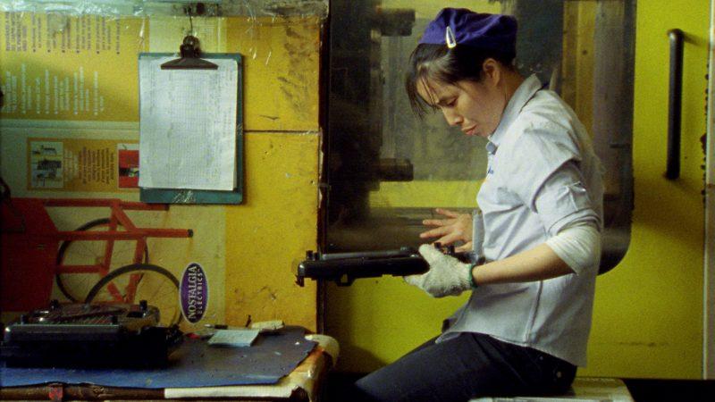 Donlim factory worker, Shenzhen, image tirée du film
