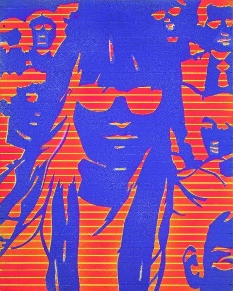 Edmund Alleyn, <i>Femme dans la foule (8)</i>, cca. 1972