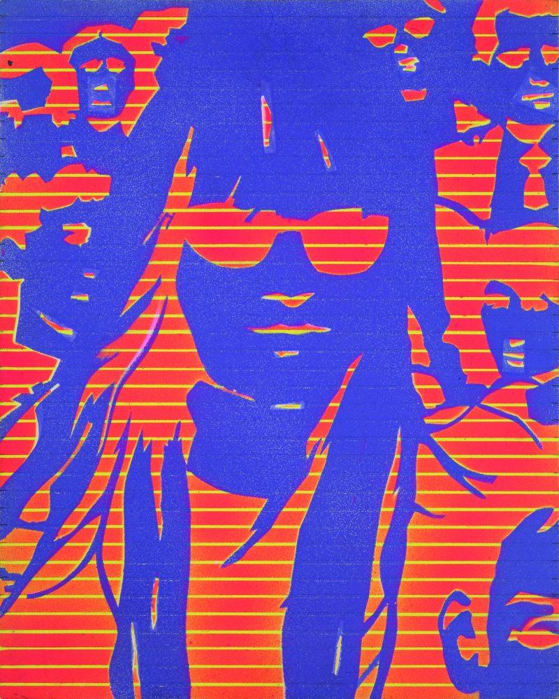 Edmund Alleyn, Femme dans la foule (8), cca. 1972