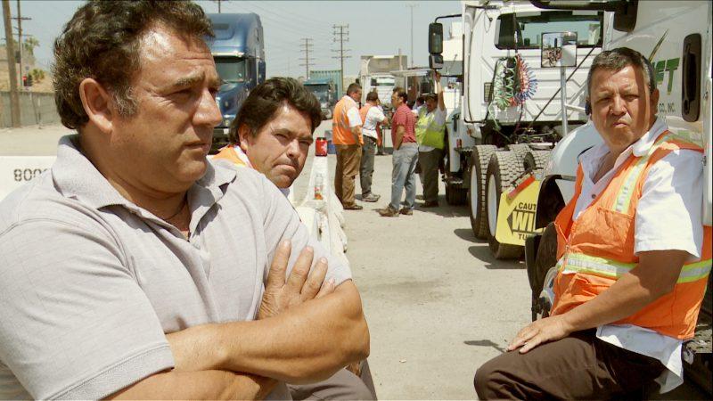 Jose Ramon Velazquez, Truck drivers, Los Angeles, image tirée du film