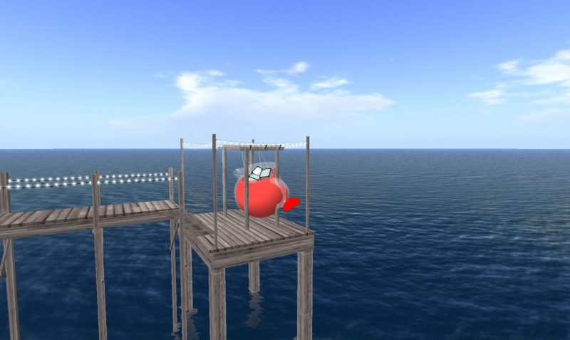 Jon Rafman, Kool Aid Man in Second Life, 2008-2011