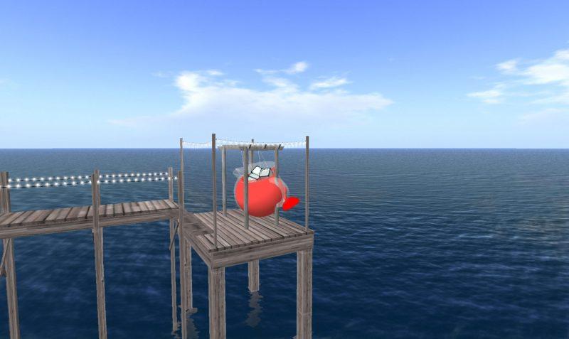 Jon Rafman, <i>Kool Aid Man in Second Life</i>, 2008-2011