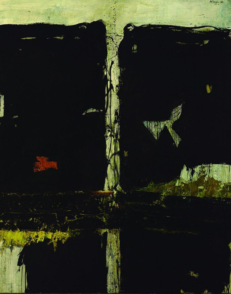 Edmund Alleyn, <i>La Crevasse</i>, 1960