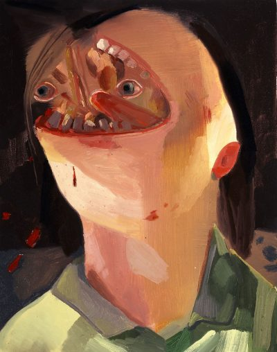 Dana Schutz, Face Eater, 2004