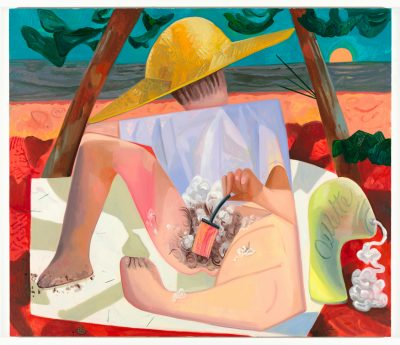 Dana Schutz, Shaving, 2010