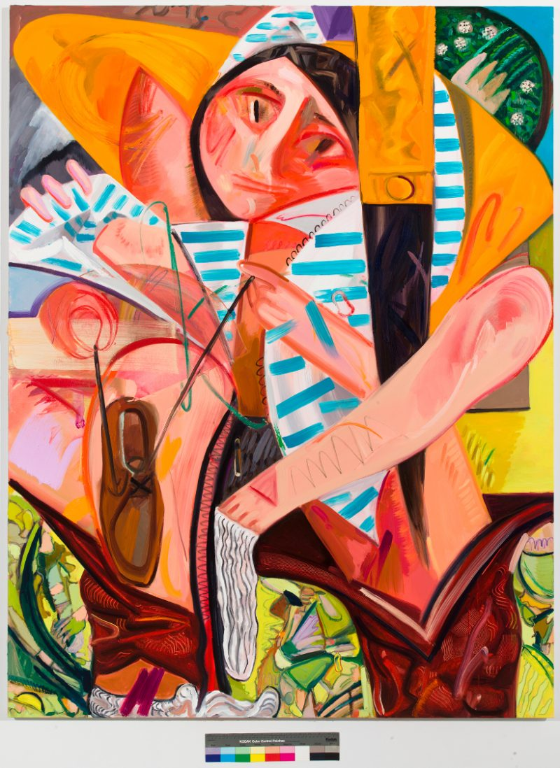 Dana Schutz, Getting Dressed All at Once, 2012