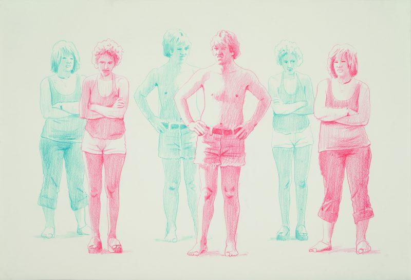 Edmund Alleyn, Sans titre, cca. 1976