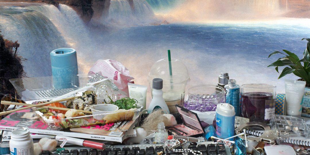 Jon Rafman, You Are Standing in an Open Field (Waterfall), 2015