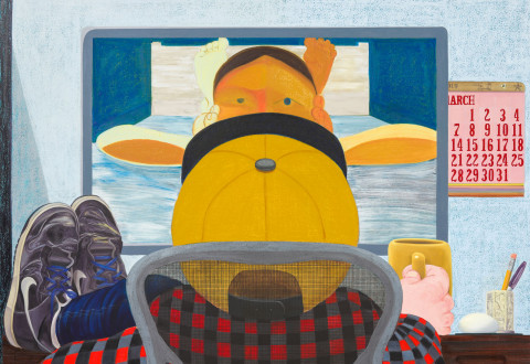 Nicole Eisenman, Long Distance, 2015