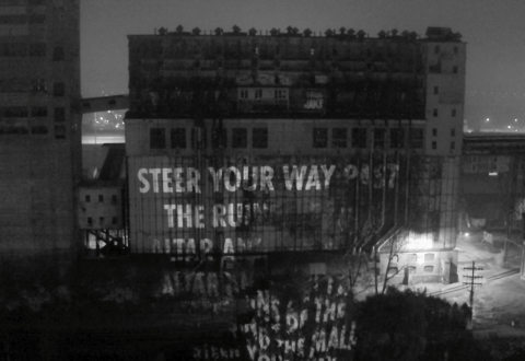 The MAC and Jenny Holzer in Leonard Cohen's Honour