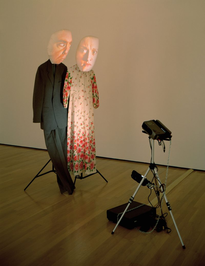 Tony Oursler, I Can't Hear You (Autochthonous), 1995