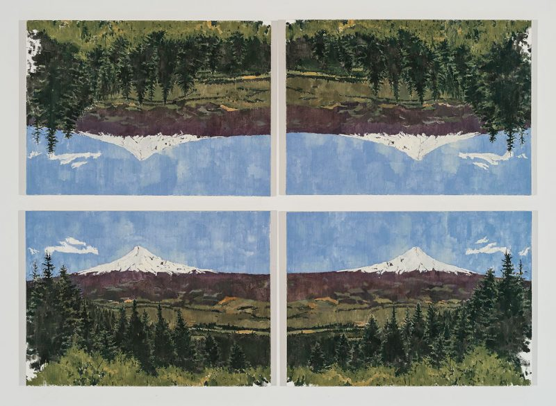 Grier Edmundson, Untitled (after Mont Sainte-Victoire), 2012
