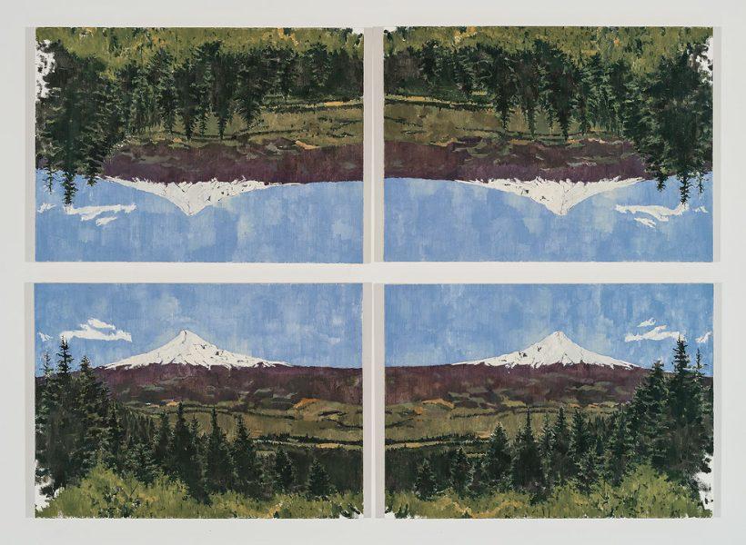 Grier Edmundson, <i>Untitled (after Mont Sainte-Victoire)</i>, 2012
