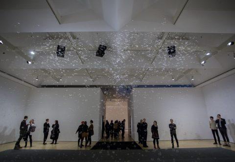 Vue de l'exposition Teresa Margolles : Mundos