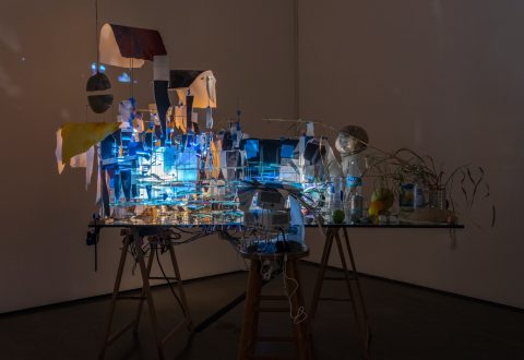 Sarah Sze, Measuring Stick, 2015