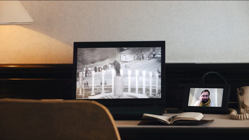 Emanuel Licha, <i>Hotel Machine</i>, 2016 (arrêt sur image)