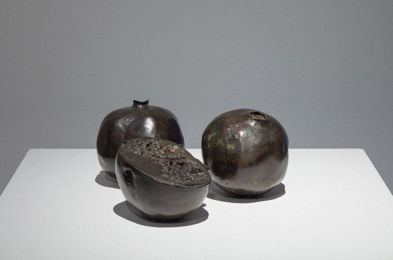 Sylvia Safdie, Rimonim, No. 1, No. 2, No. 3, 1998