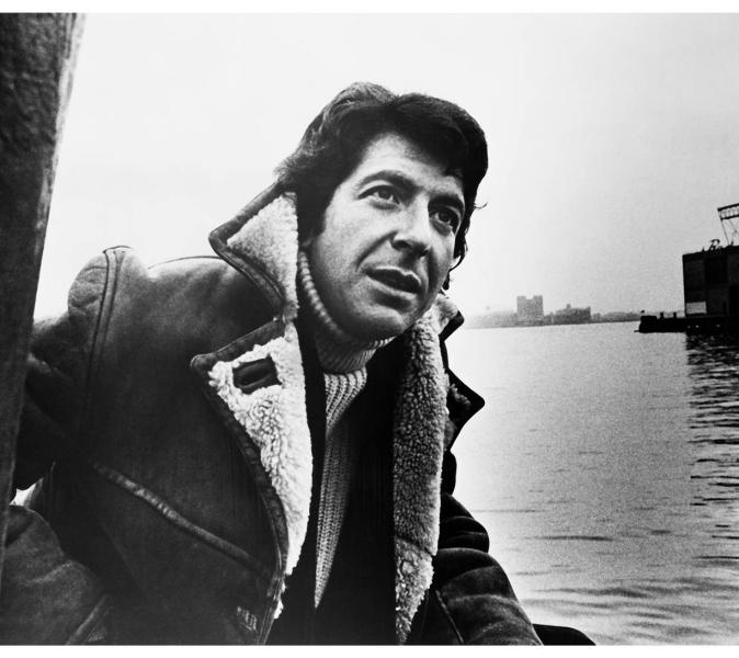 Photo de Leonard Cohen