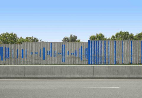 La Banque Nationale au MAC pour Bleu de bleu.