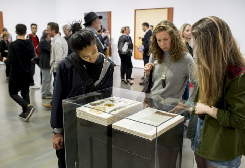 Vernissage de l'exposition Taryn Simon au MAC