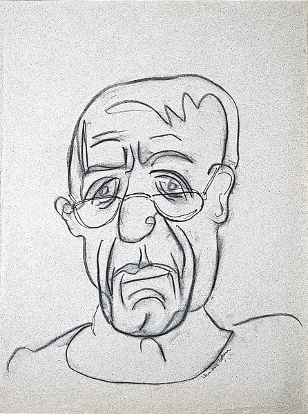 Leonard Cohen, Self-portrait