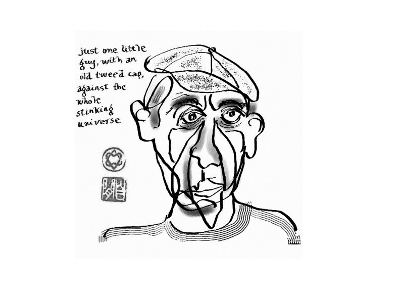 Leonard Cohen, Self-portrait