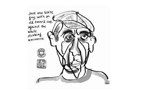 Leonard Cohen, Autoportrait