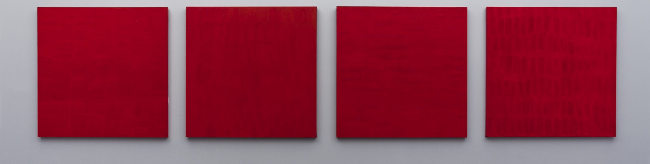 Françoise Sullivan, Rouge nos 2, 3, 5, 6, 1997