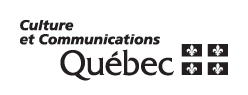 Logo Culture et communications Québec Page Cohen